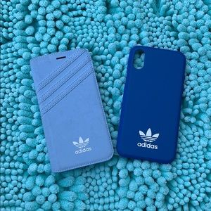 COPY - Two Adidas XS IPhone cases